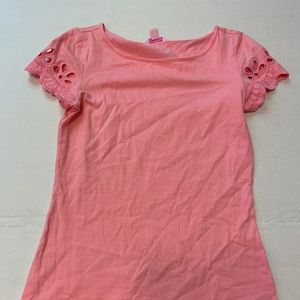 Lilly Pulitzer pink hilly top size XS